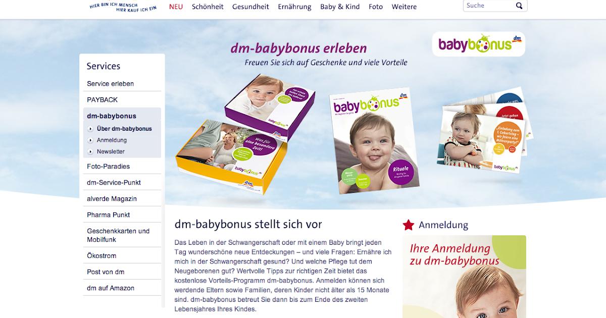 babybonus gratispakete f r s baby von dm gratisproben f rs baby gutscheine rabatte und mehr. Black Bedroom Furniture Sets. Home Design Ideas