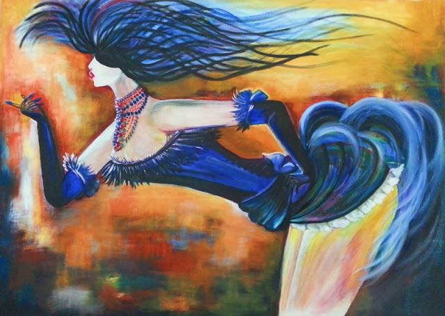 obrazy malowane olejami