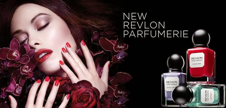 Ad Bite Olivia Wilde For Revlon Parfumerie Scented Nail Polishes