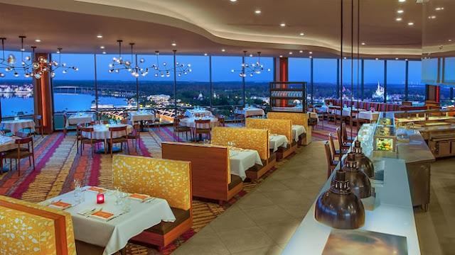 Restaurante California Grill em Orlando\
