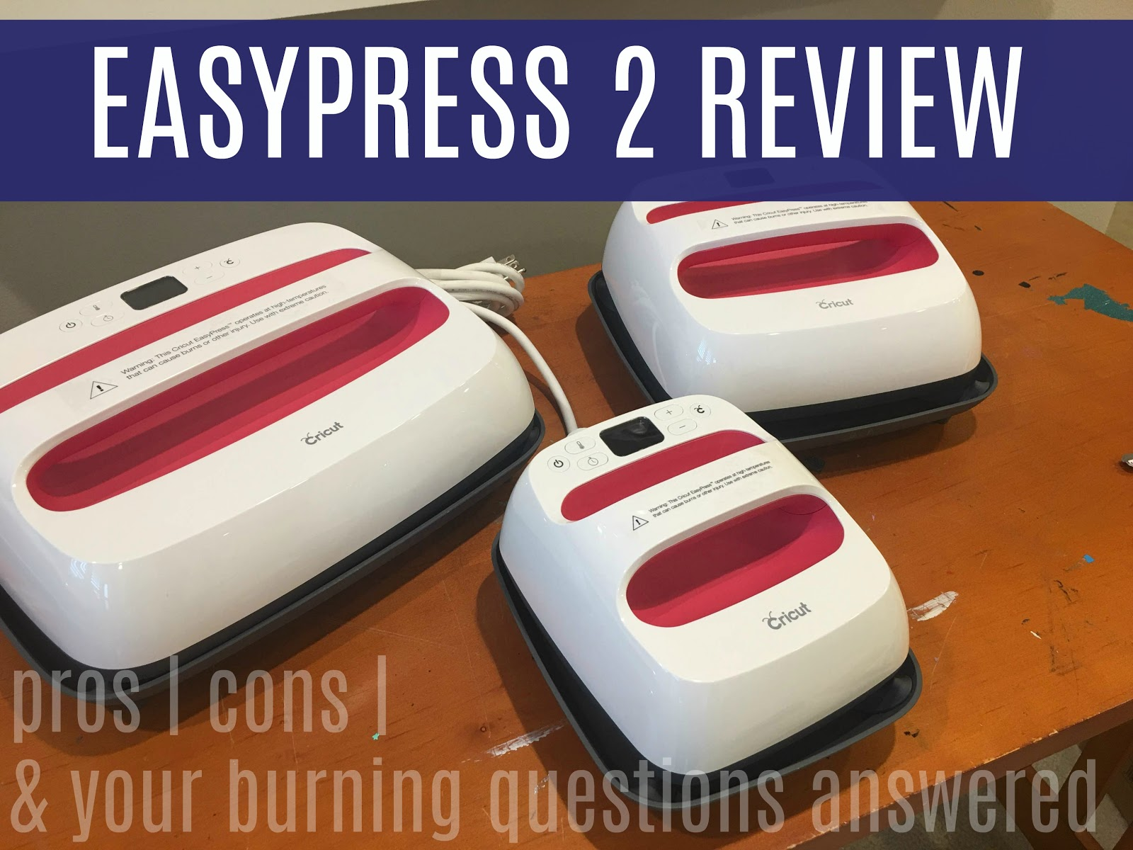 Cricut EasyPress 2 Review: All Your Burning Questions Answered