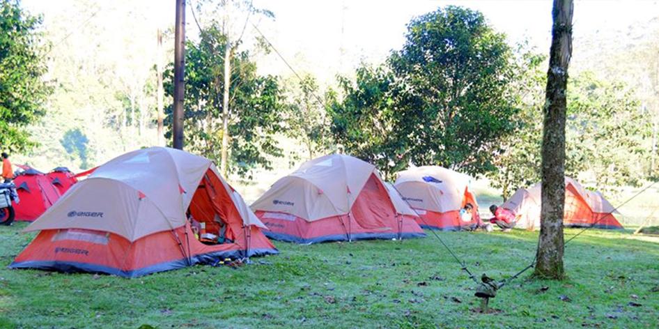 lokasi tempat camping di Bandung