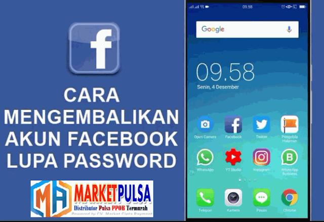 Cara Mengembalikan Password Facebook yang Kelupaan