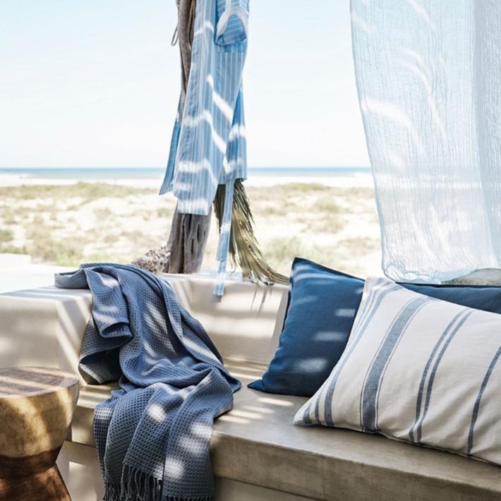 Atmósfera de mar y playa con H&M