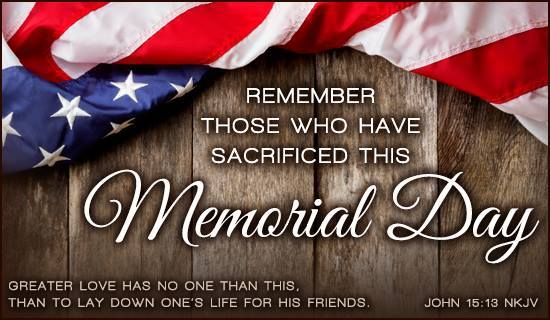 Memorial day quotes for loved ones