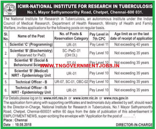 nirt-chennai-regular-permanent-vacancy-posts-recruitment-notification-august-2018-tngovernmentjobs-in
