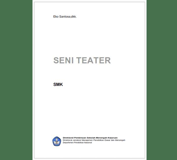 Buku SMK Seni Teater
