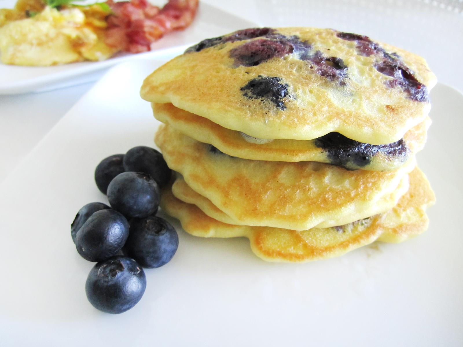 Madeforjen Blueberry Pancakes