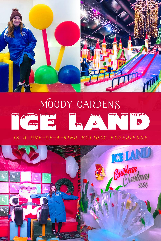Ice Land at Moody Gardens in Galveston, TX