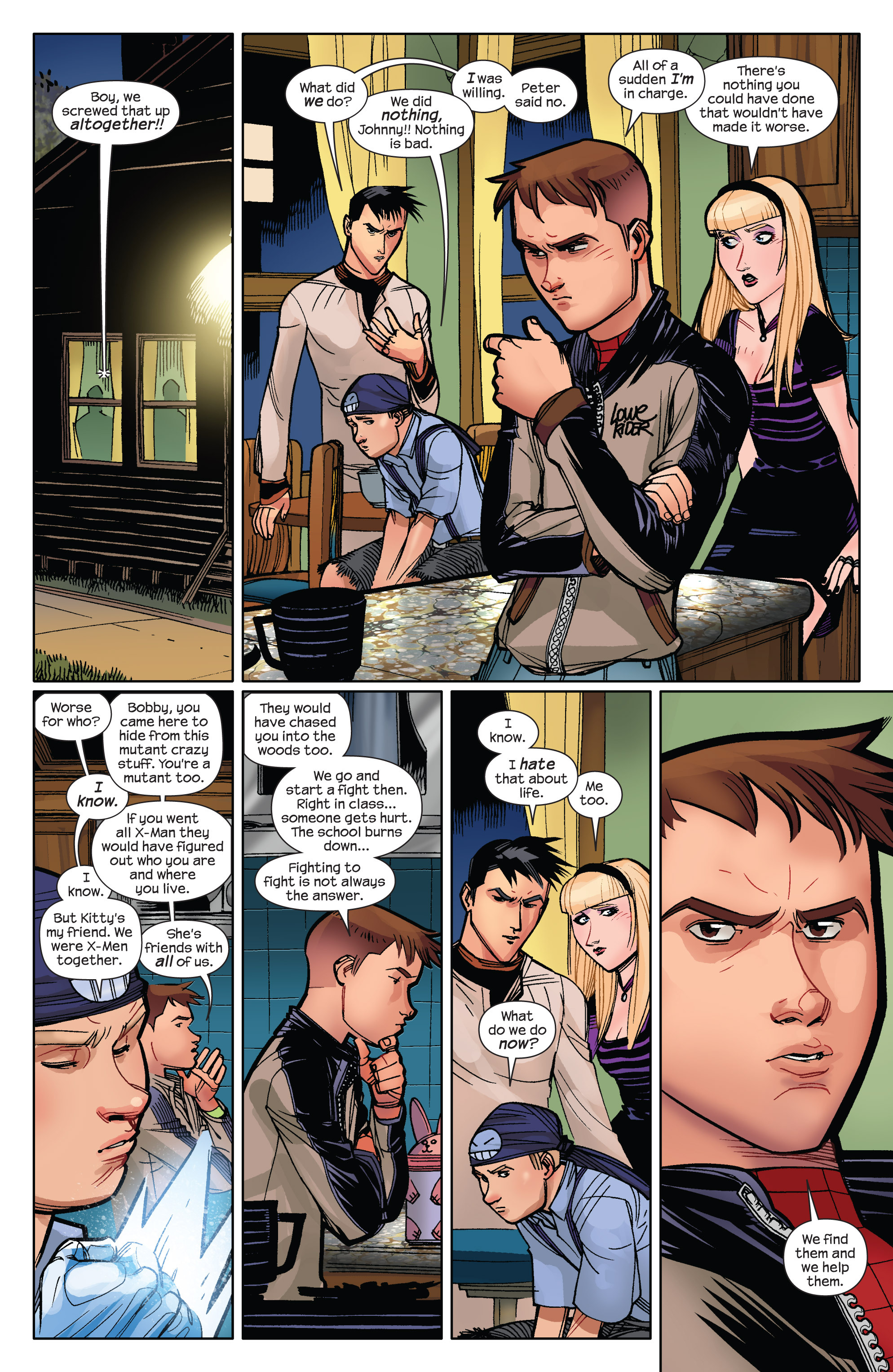 Read online Ultimate Spider-Man (2009) comic -  Issue #10 - 12