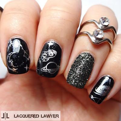 Galactic Gypsy Nail Art