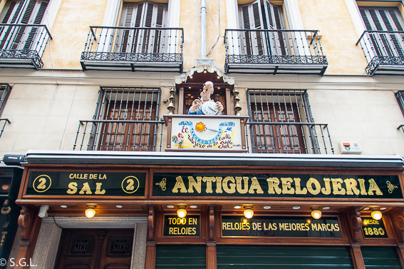 Antigua relojeria. Ruta lowcost por Madrid