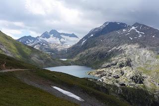 Lac Bramant et Pic de l'Etendard