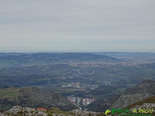 Oviedo desde la Fayona