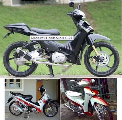 Modifikasi Honda Supra X 125 cc Pgm fi Racing