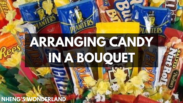 arranging-candy-in-a-bouquet