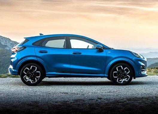 2020 ford puma wheels side exterior