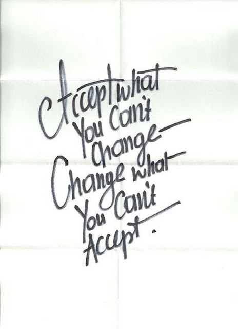Accept What You Can't Change Quotes