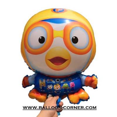 Balon Foil Karakter Pororo
