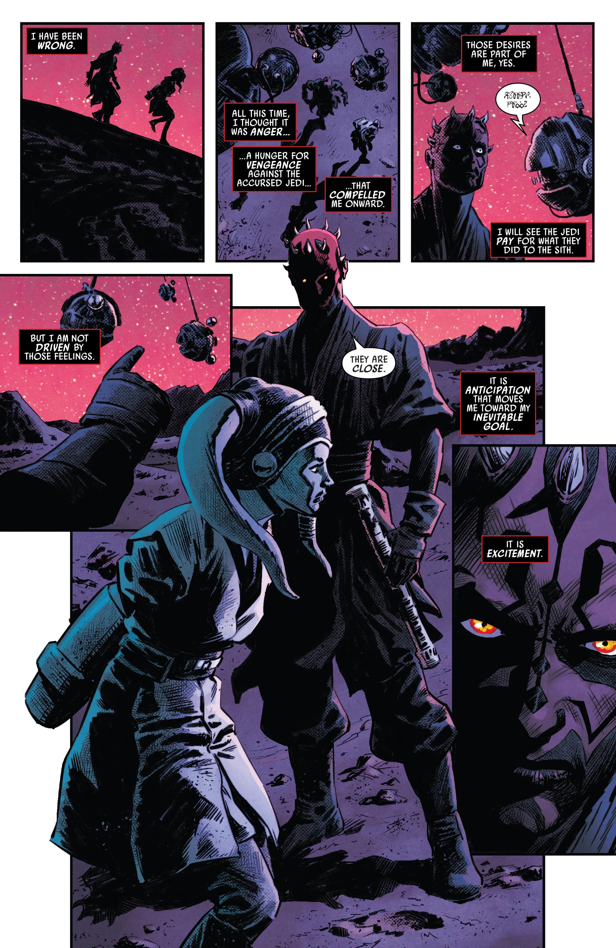 Read online Darth Maul comic -  Issue #4 - 9
