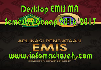 Desktop EMIS MA Semester Genap 2016/2017