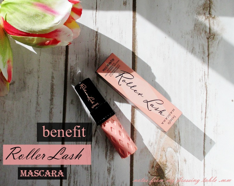 Benefit Roller Lash Super Curling & Lifting Mascara - Review- notesfrommydressingtable.com