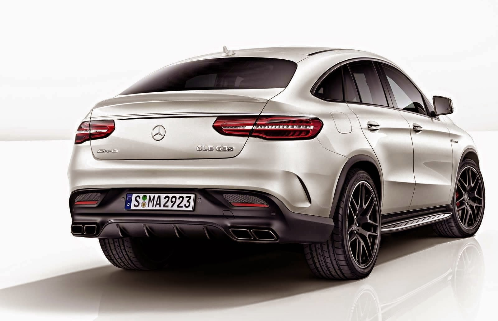 one by news mercedes benz gle 63 s coupe with night package. Black Bedroom Furniture Sets. Home Design Ideas