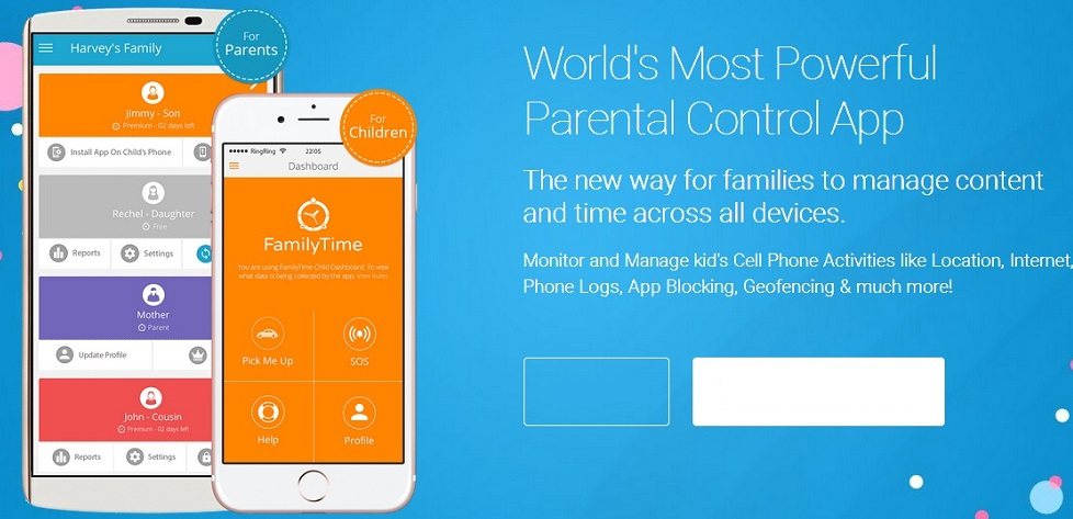 FamilyTime Mobile App Features