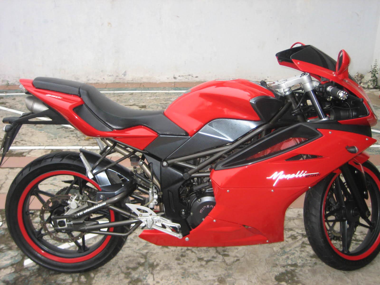 Blog Modifikasi Motor Minerva Magelli R Motor BigSport