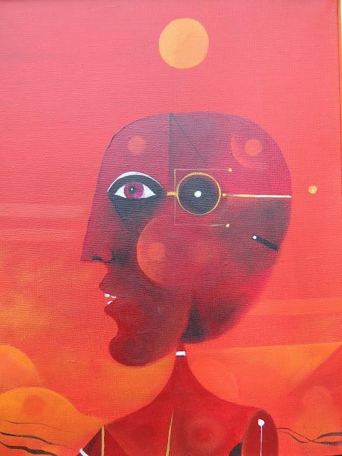 Eduard Alcoy obra acrílico tela