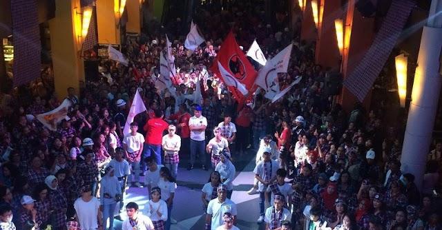 Relawan Ahok-Djarot Buat Acara 'Panggung Kotak-Kotak' di Citos