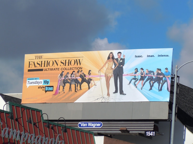The Fashion Show Bravo billboard
