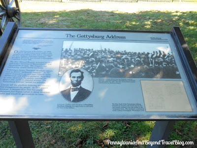 The Gettysburg Address - Historical Marker
