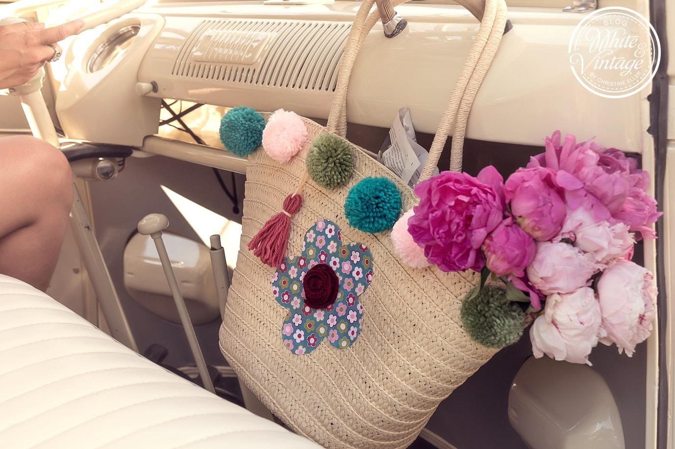 Tasche im Hippie-Style