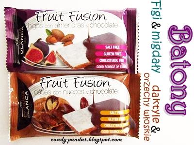 Baton figowy oraz daktylowy – Fruit Fusion