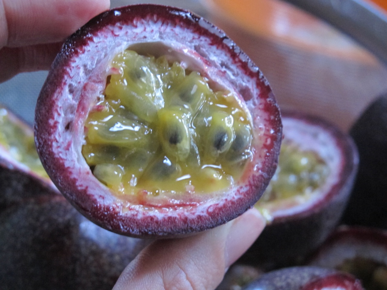 When I spotted a mountain of passionfruit at the shop I knew exactly ...