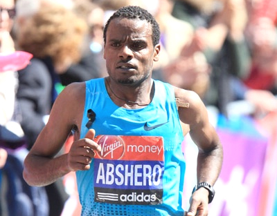 Ayele Abshero head the elite fields at the 2017 Standard Chartered Mumbai Marathon
