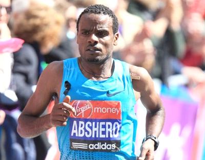 Ayele Abshero head the elite fields at the 2017 Standard Chartered Mumbai Marathon