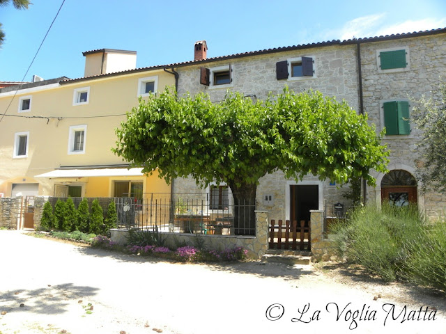 La Parenzana a Buje (Istria)