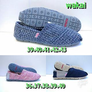 Sepatu Wakai Motif Terbaru