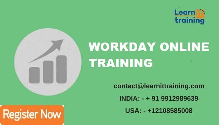 WORKDAY Online Training: September 2017