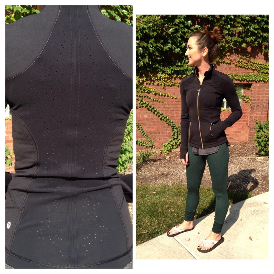 lululemon fuel green ebb to street pant forme jacket