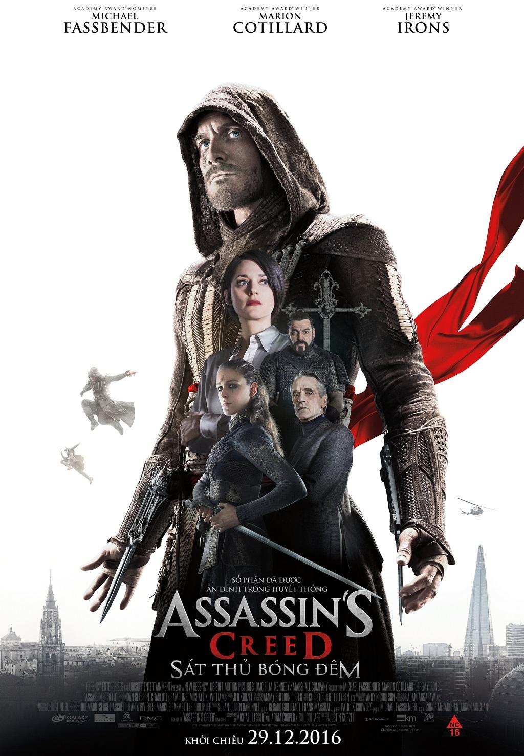 Đánh giá phim: Assassin's Creed (2016) - chỉ là một phần của Game