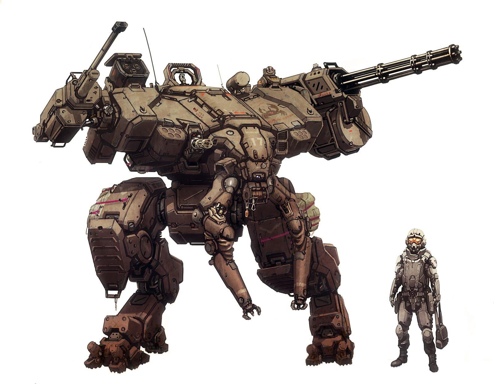 Atlas-6 War Machine (Mech) Minecraft Map