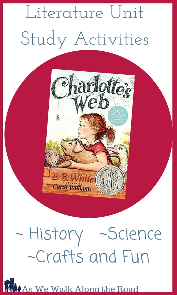 Charlotte's Web literature unit activities