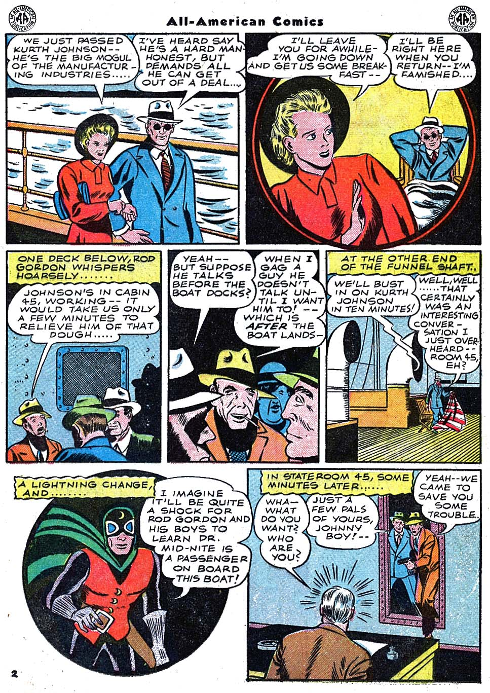 Read online All-American Comics (1939) comic -  Issue #67 - 19