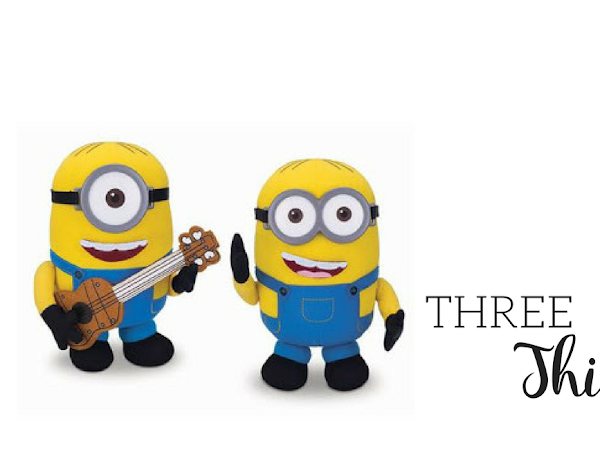 Three Things {Build a Minion, Pete the Cat and Airjitzu}