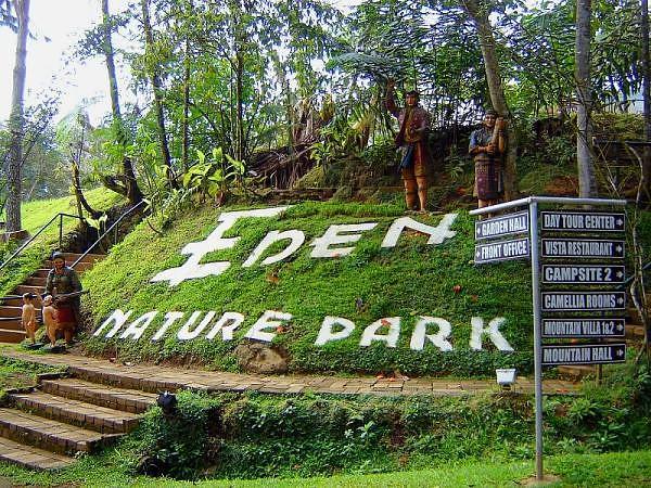 Eden Nature Park Information Tagalog