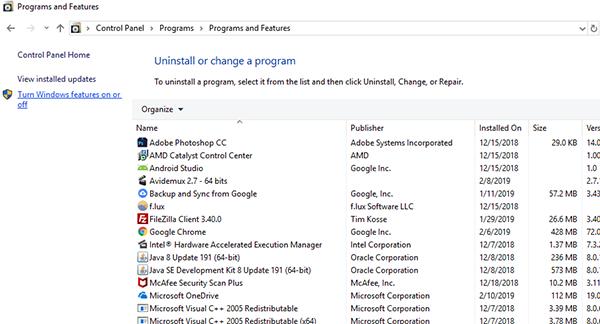 كيفية إزالة Internet Explorer بالكامل من نظام التشغيل Windows 10
