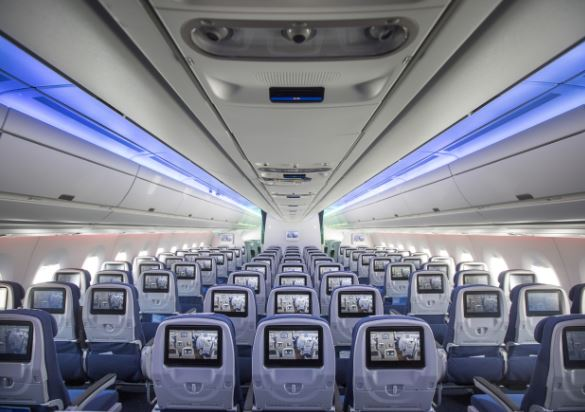 Airbus A330-300 cabin